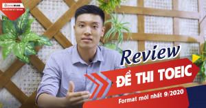 Review đề thi TOEIC format mới nhất