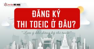 Địa điểm & thông tin đăng ký thi TOEIC tại IIG Vietnam