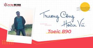 HOÀN VŨ 890 TOEIC VÀ KEYWORD DẪN ĐẾN THÀNH CÔNG - CONSISTENCY