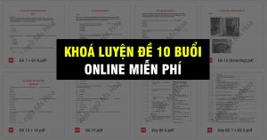 Khoá Luyện đề TOEIC Online Miễn phí 100% - Anh ngữ Ms Hoa