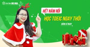Lịch khai giảng các lớp TOEIC tháng 12/2018 tại TP. Hồ Chí Minh