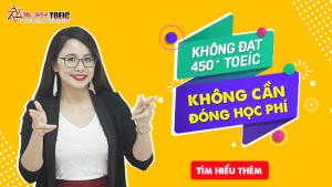 KHÓA HỌC TOEIC 450 - 500+ CHO NGƯỜI MẤT GỐC tại Anh ngữ Ms Hoa