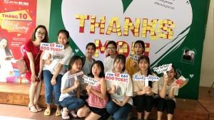 Anh ngữ Ms Hoa đồng hành cùng các bạn sinh viên thổ lộ