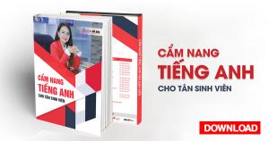 Ebook Cẩm nang tiếng Anh cho tân sinh viên | Anh ngữ Ms Hoa