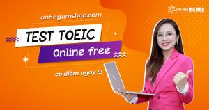 Thi Thử TOEIC Online Miễn Phí (Có Chấm Điểm)