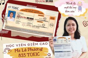 Kinh nghiệm học TOEIC tại nhà từ bà mẹ bỉm sữa Lê Phương