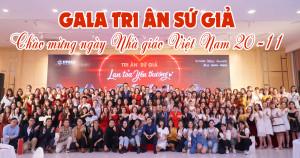 Chúc mừng ngày nhà giáo Việt Nam - Gala tri ân sứ giả lan tỏa yêu thương 2020