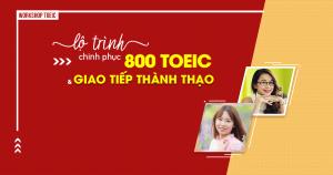 [HCM] Hội Thảo Lộ trình chinh phục 800 TOEIC và giao tiếp thành thạo - Anh ngữ Ms Hoa