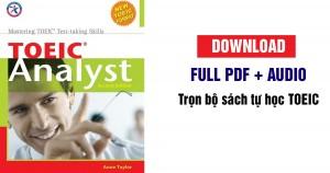 TOEIC Analyst - Tài liệu ôn thi TOEIC [Full PDF + Audio Bản đẹp]