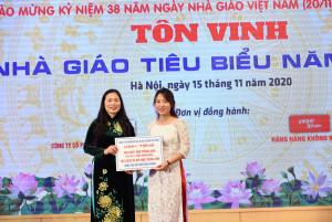 [Giáo dục thời đại] IMAP Việt Nam đồng hành cùng ngày lễ Tôn vinh nhà giáo tiêu biểu năm 2020