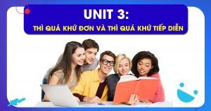 Unit 3: Thì quá khứ đơn và thì quá khứ tiếp diễn (The past simple and The past continuous)