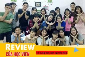 Review của học viên về trung tâm Anh ngữ Ms Hoa