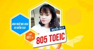 Chọn đồng hành cùng Ms Hoa, cô gái đạt 800+ TOEIC chỉ sau 2 tháng