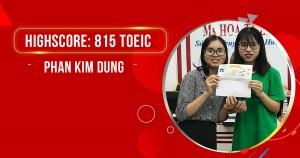 Học xong khóa luyện đề 12 buổi - đạt ngay 815 TOEIC
