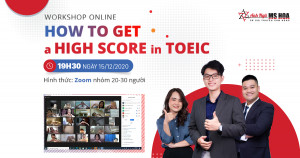 WORKSHOP online How to GET a HIGH SCORE in TOEIC