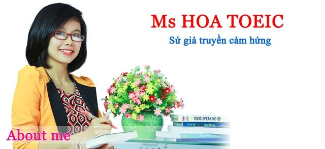 Ms Hoa TOEIC địa chỉ học TOEIC uy tín ở Hà Nội, HCM