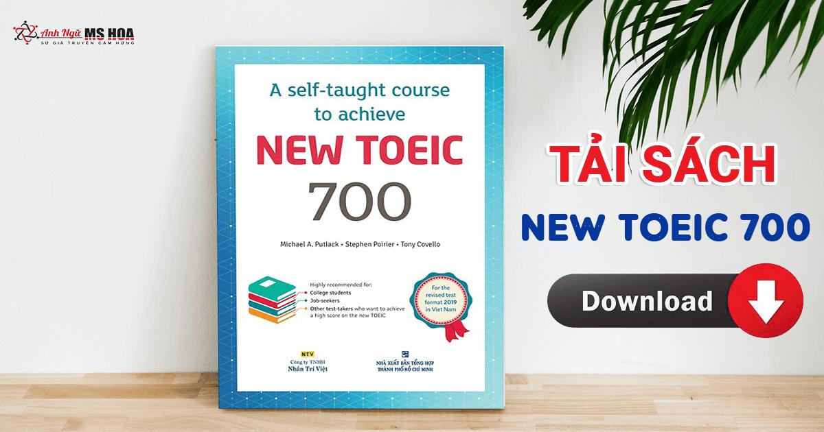 New TOEIC 700 - Bộ sách giải đề cực HOT [PDF + Audio]