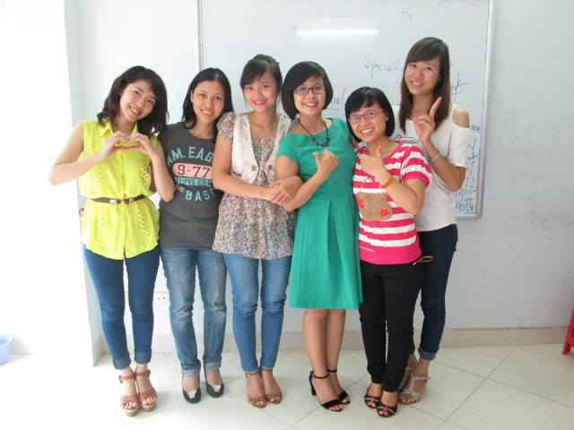Học viên lớp B82 TOEIC ms hoa TOEIC