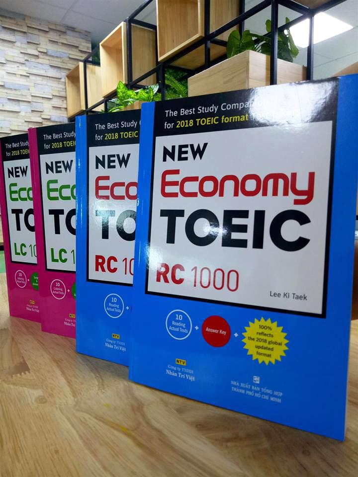 Bộ sách New Economy TOEIC 2018