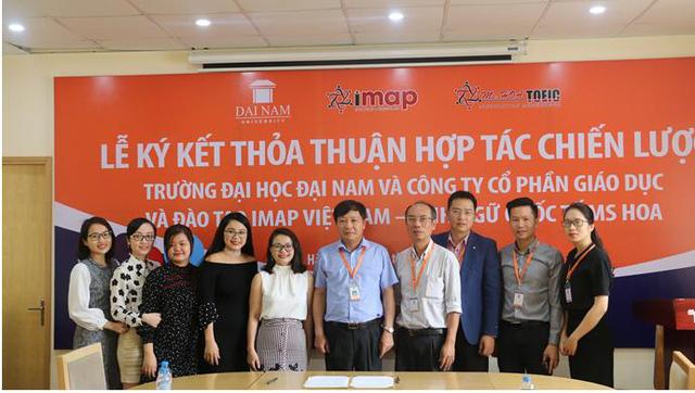Trường ĐH Đại Nam và Imap đi đến thống nhất trong hợp tác toàn diện, đào tạo tiếng anh cho sinh viên