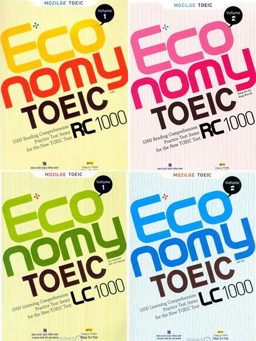 Economy TOEIC LC 1000 volume 1 2 3 4 5
