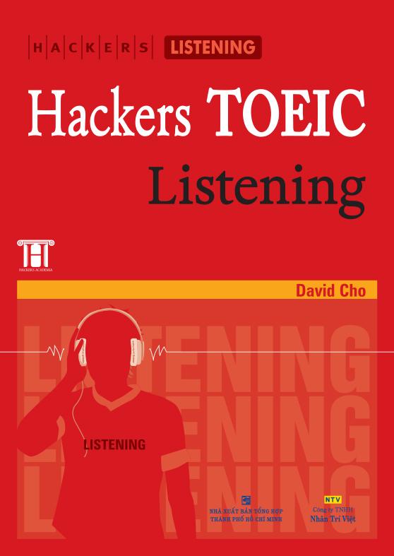 SáchHacker TOEIC Listening