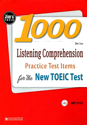 Sách Jim's Toeic 1000 Listening Comprehension