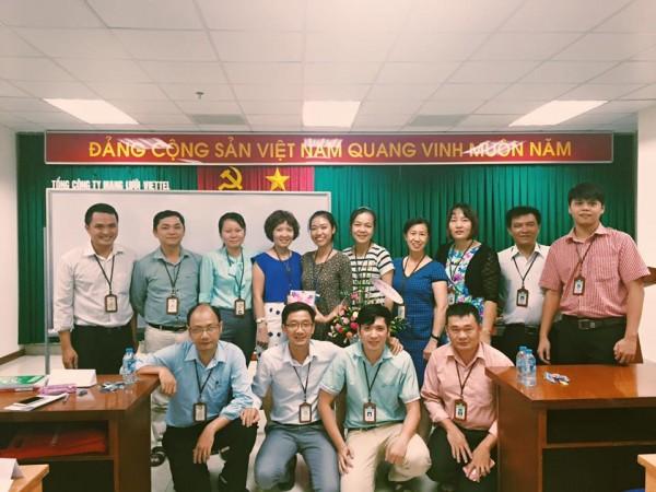 Học viên lớp Viettel KV3 HCM - Anh Ngữ Ms Hoa