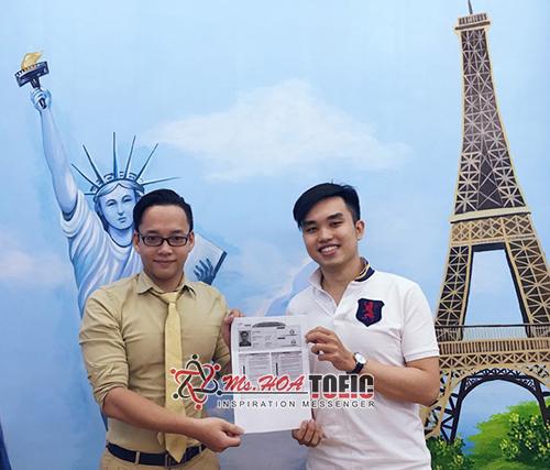 Học viên lớp TOEIC A Plus - Trần Oai Minh