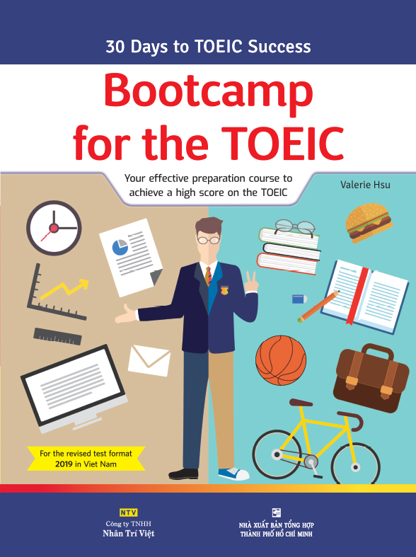 Bộ sách Bootcamp for the TOEIC