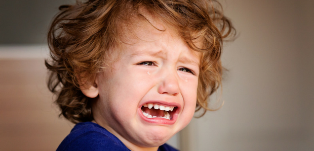 My younger brotherhad been cryingfor almost 1 hour before lunchtime.