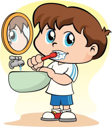 I brush my teeth every day