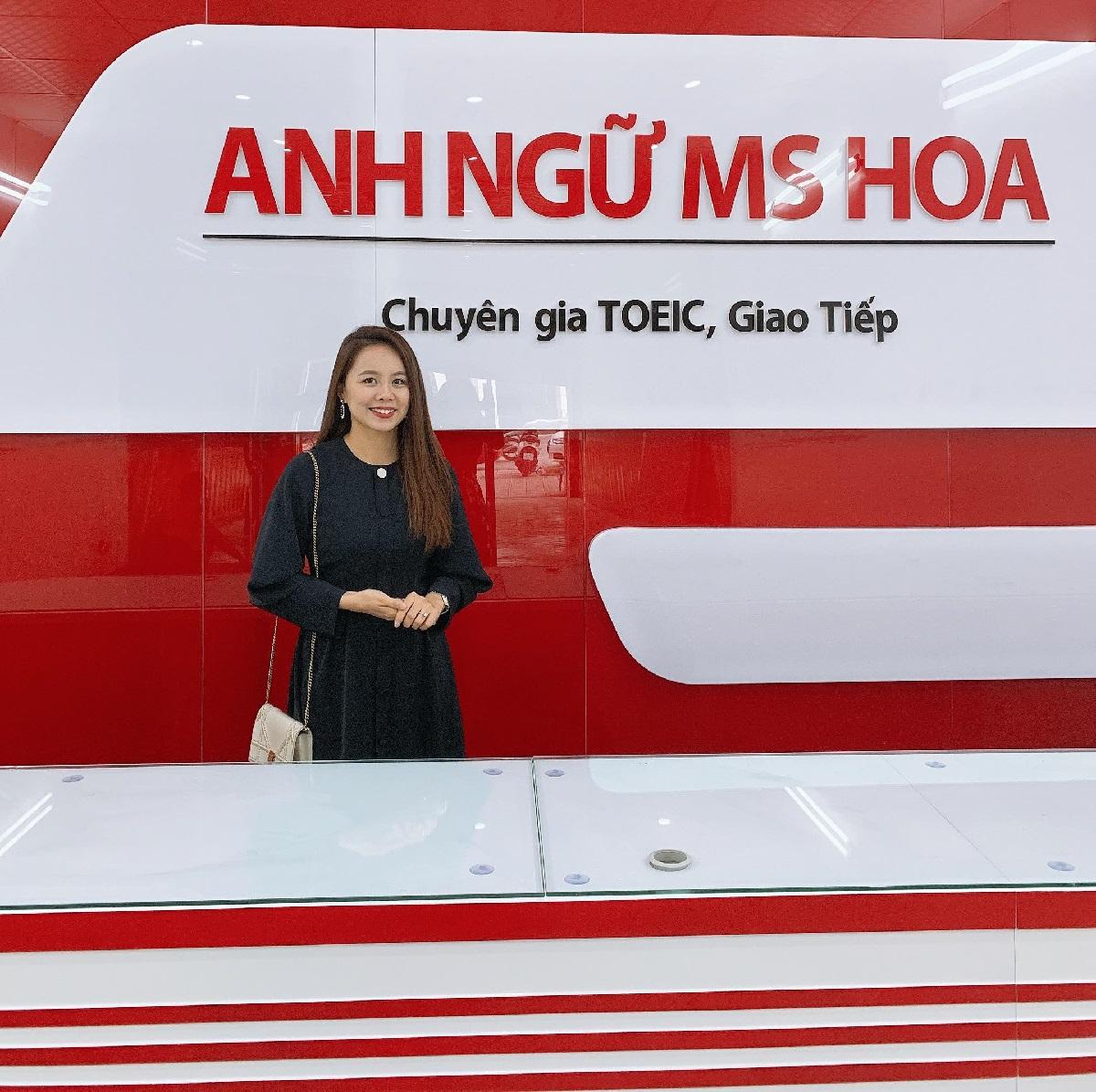 Ms Hoa - Founder của Anh Ngữ Ms Hoa