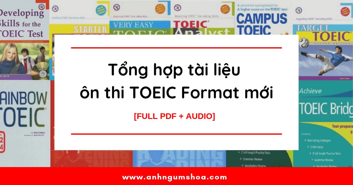 Tài liệu tự học Toeic