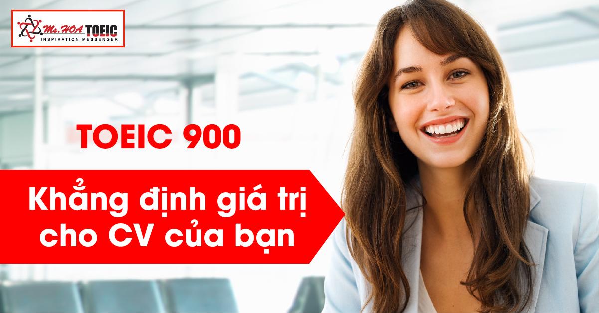 TOEIC 900 điểm lộ trình học TOEIC cho người mới bắt đầu