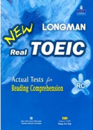 Sách New Real Longman TOEICActual Tests for Reading Comprehension