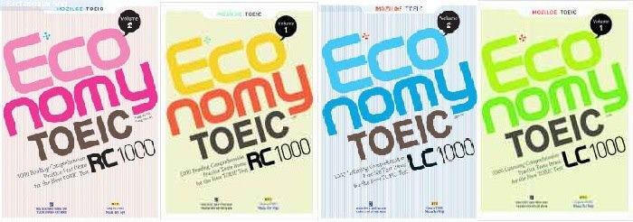 Sách TOEIC economy Volum 1, 2, 3