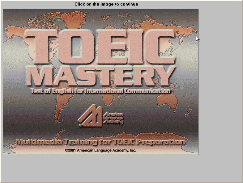 Phần mềm TOEIC Mastery