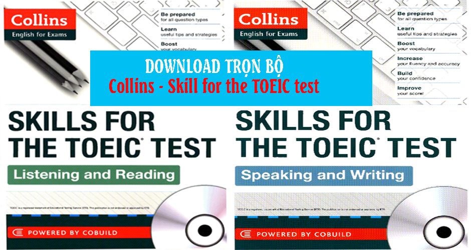 Bộ sách Collins - Skill for the TOEIC test